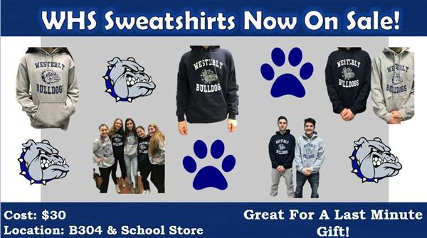 WHS Sweatshirts on Sale!